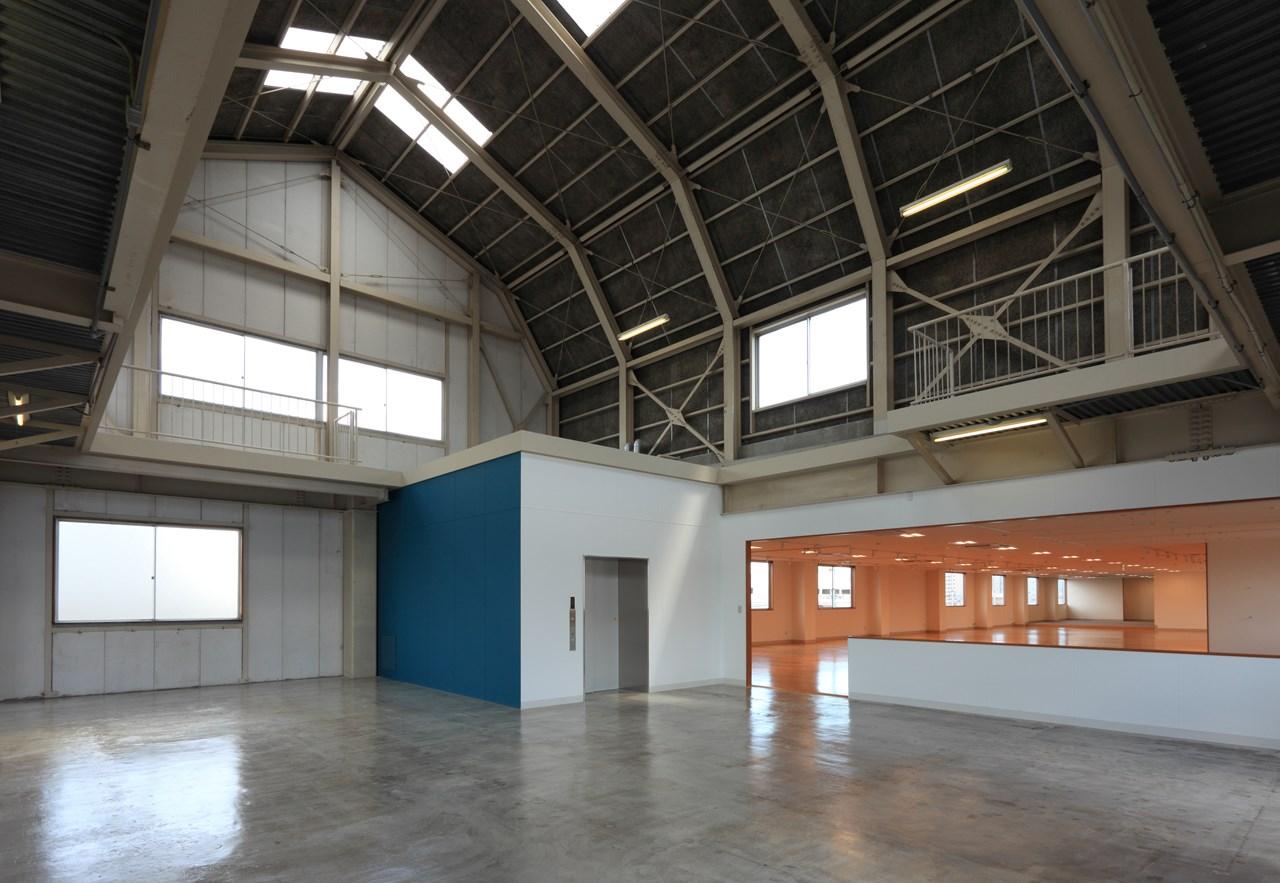 写真:山根木材株式会社工場棟