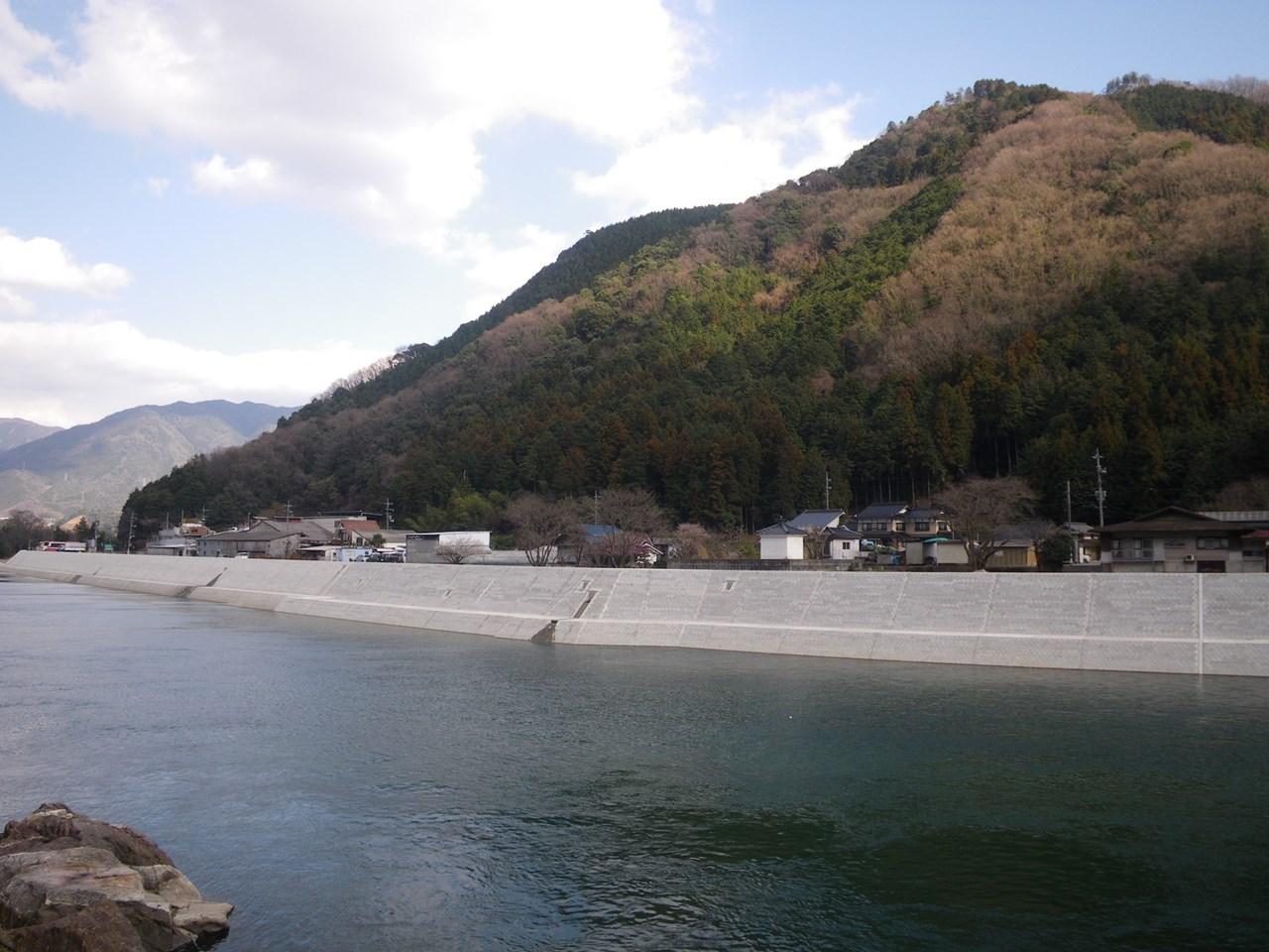 写真:太田川八木地区第2護岸