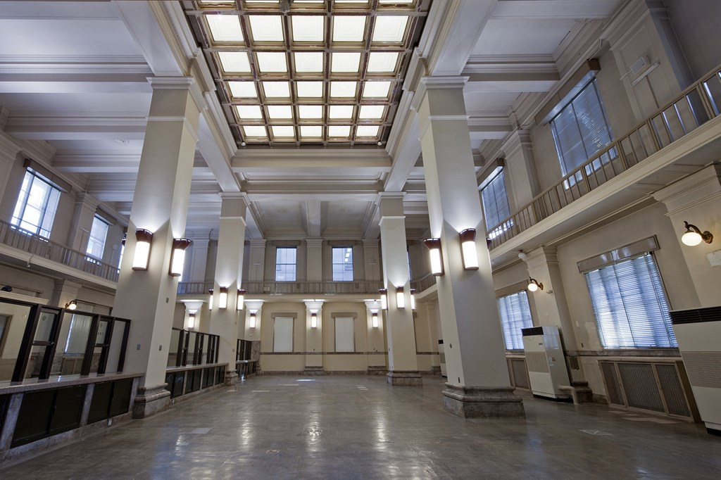 写真:広島市指定重要有形文化財旧日本銀行広島支店