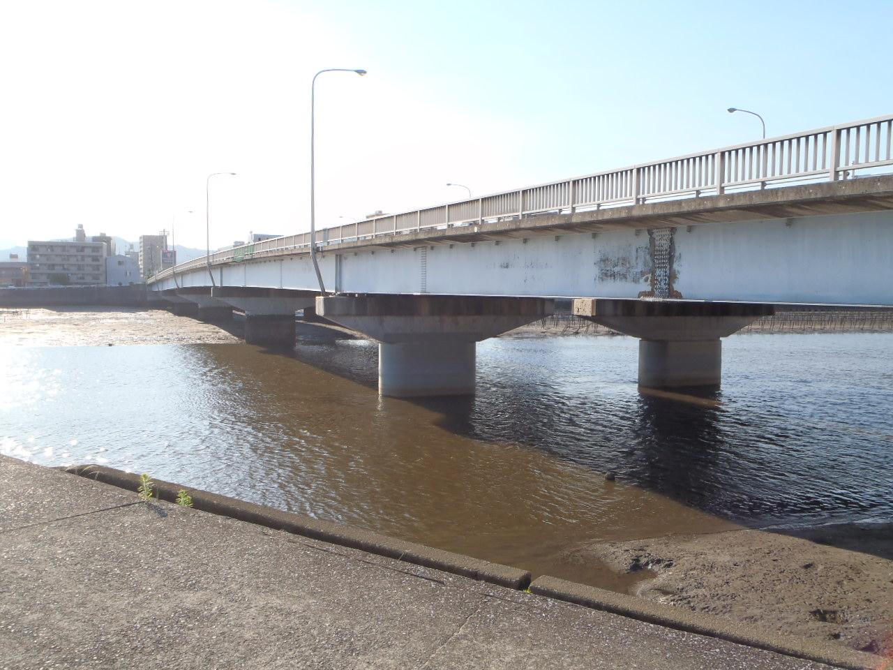 写真:昭和大橋耐震補強工事(その1)