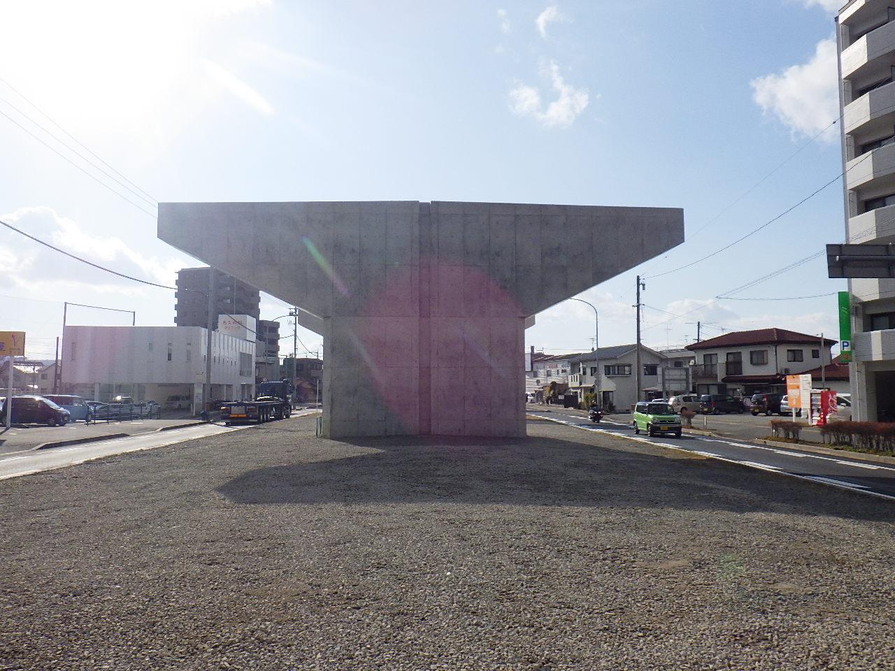 写真:東広島バイパス海田高架橋第8下部工事