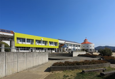 写真:可愛小学校既存校舎改修工事
