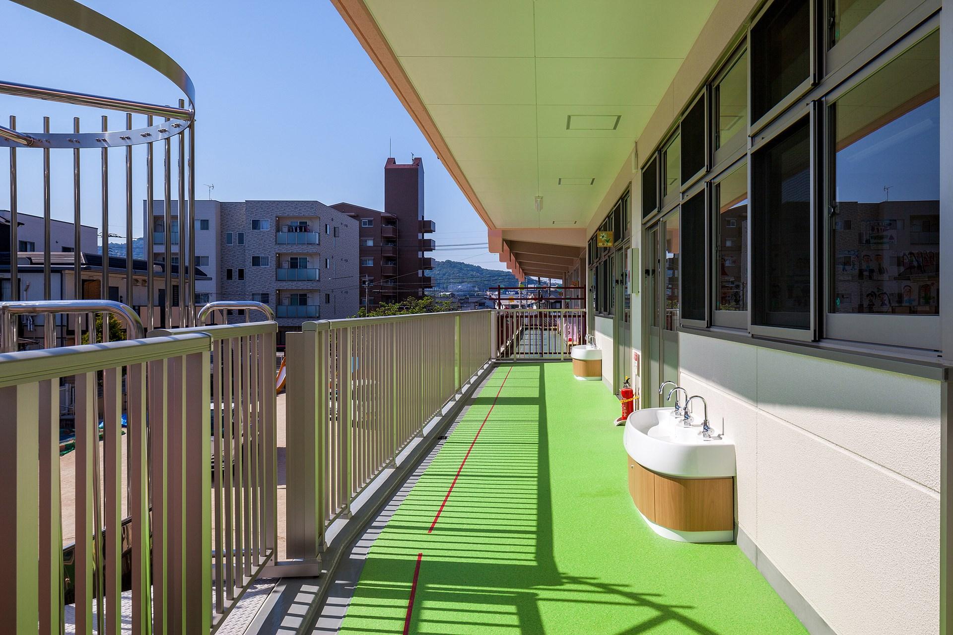 写真:祇園法輪幼稚園園舎改築