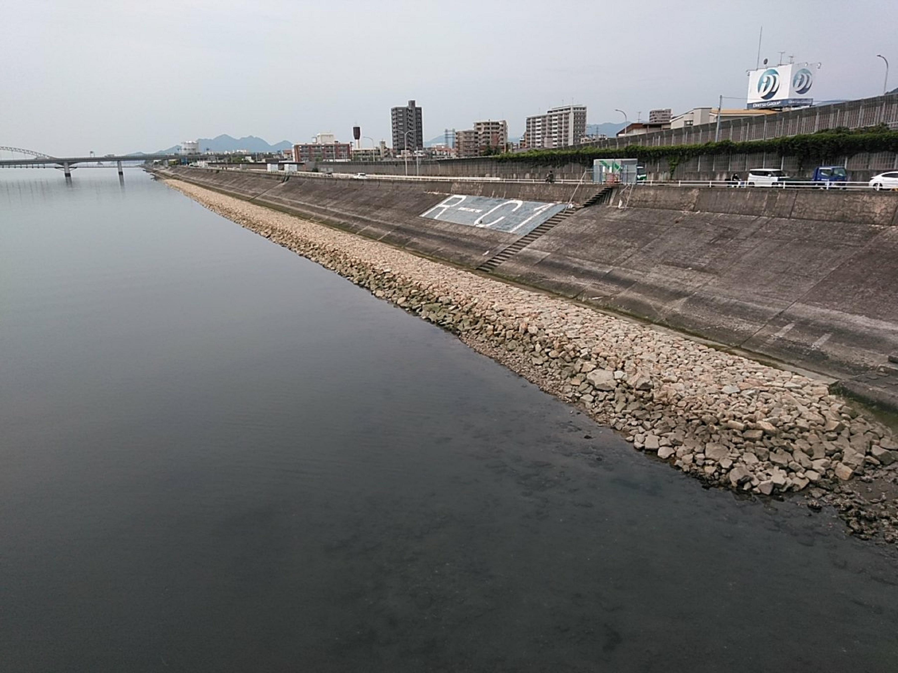 写真:太田川庚午南地区耐震対策工事